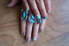 Urban Outfitters - Blog - Nail Art with Floss Gloss: Round Two