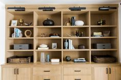 Rift Sawn Oak Built-ins    Studio McGee