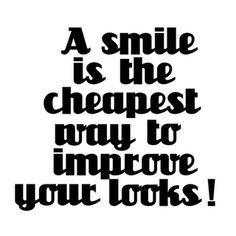 A Smile is . . .
