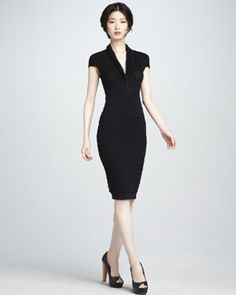 T5A9T Catherine Malandrino Slim Knit Dress