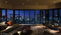 Luxury penthouse Homes Seoul Apartment, Apartment View, Penthouse Apartment, New York City Apartment, Dream Apartment, Apartment Design, Luxury Penthouse, Luxury Apartments, Luxury Homes