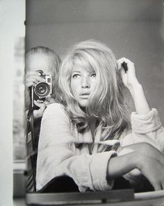 Monica Vitti. In Rome. In 1960. Through the lens of Peter Basch.