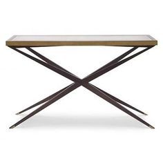 Mr. Brown Atlantis Console Table | View All - Consoles | Consoles | Living Room | Furniture | Candelabra, Inc.