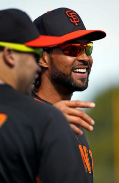 San Francisco Giants' Angel Pagan during Spring Training in Scottsdale, Arizona, on Tuesday, February 24, 2015. Photo: Scott Strazzante / The Chronicle / ONLINE_YES