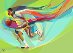 The colors of Basketball (2) by tsevis, via Flickr