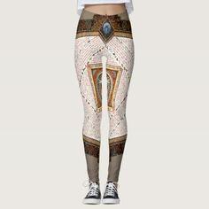 Homage to Leonardo da Vinci Leggings - #customizable create your own personalize diy
