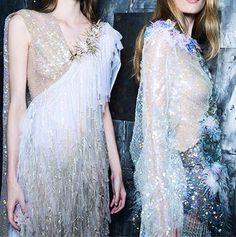 Rodarte SS15 Snow Queen, Prom Dresses, Formal Dresses, Ss 15, Winter White, Awards, Sequin Skirt, Swarovski, Costumes