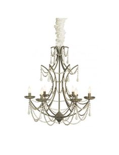 """The Bourdeilles Chandelier is from Aidan Gray, a line that represents a love for interiors, design and authentic products that exude """"European Grandeur."""" The founding partners' desire for products made by hand and with authentic materials such as solid wo French Chandelier, Candle Chandelier, Candelabra, Pendant Lighting, Star Fashion, Antique Furniture, Light Up, Ceiling Lights"""