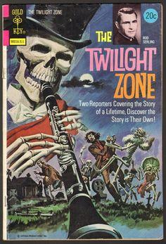 The Twilight Zone Comic #53  Publisher: Gold Key Comics  Date: November 1973
