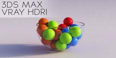 3DS Max 2014 Vray HDRI Lighting Tutorial