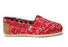 These Toms have equations written all over them!!! Amazing! Definitely on my wish list.