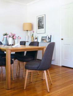 interior define dining set in blogger jessica comingore's home. / sfgirlbybay