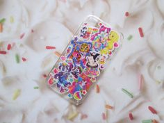 Vintage Lisa Frank 90s Glitter iPhone 4 4s 5 Case Unicorn Rainbow Cat   by CANDYPANTSclothing, $19.00