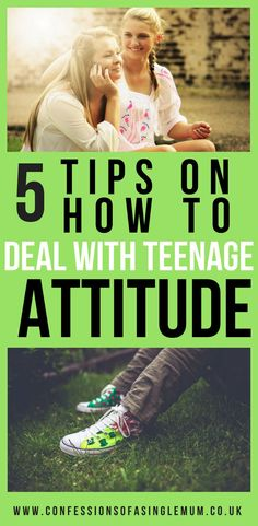 5 Tips on how to deal with teenage attitude #parenting #teenagers