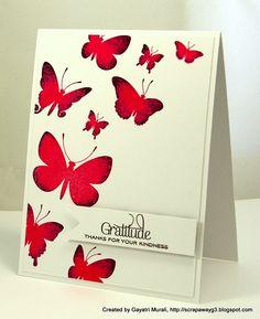 PTI Beautiful Butterflies, Pretty Peonies