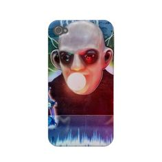 Vintage Scary Halloween Monster Arcade Game Man Case Iphone 4 Cover by #crazy4me