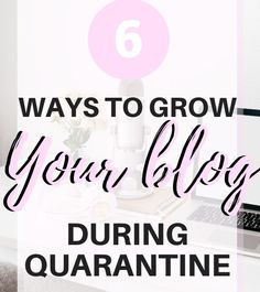 How to grow your blog traffic during quarantine   bossbabeblog Business Ideas For Students, First Blog Post, Blogging For Beginners, Make Money Blogging, Blog Tips, How To Start A Blog, Social Media, Advice, Tools