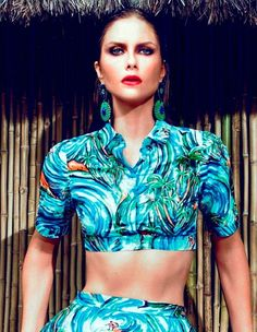 Vibrant Vacationing Editorials - The Elle Brazil Summer Love Photoshoot Pushes Boundaries (GALLERY)