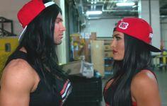 Tyler Breeze and Nikki Bella