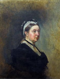 Queen Victoria. By George Housman Thomas (Oil on canvas, 1890)