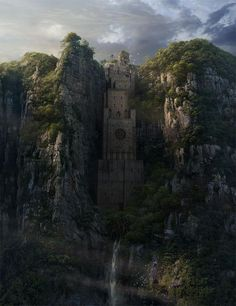 Amazing cliffside fortress or monastery.