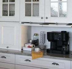 Small kitchen storage appliance ideas for smaller kitchens shelves tiny without cabinets Appliance Cabinet, Kitchen Appliance Storage, Small Kitchen Storage, Kitchen Cabinet Storage, Kitchen Shelves, Kitchen Cabinet Styles, Custom Kitchen Cabinets, Custom Kitchens, Modern Cabinets