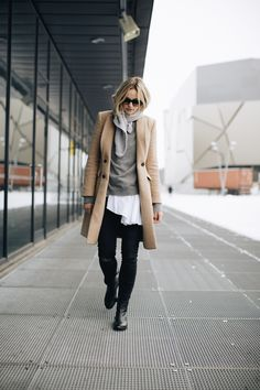 Layered up via fashion blogger Anouk Yve