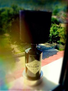 hendrick's gin lamp