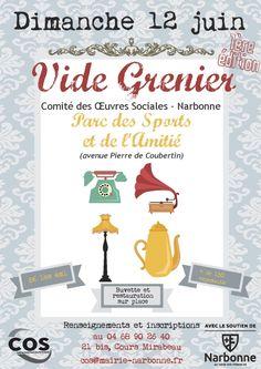 Vide Grenier - Comité des Oeuvres Sociales, Narbonne (11000), Aude