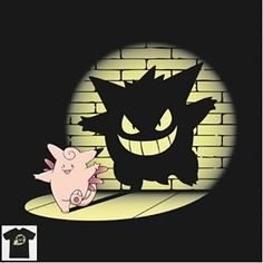 """Caption This ;) """"Clefable=Gengar"""" by stayfrostybro ------------------------------------------- available at page 13 of our store worldwide shipping  The best t-shirts sweatshirts tanks and hoodies you can find on the web!  . . . #Geek #nerd #nerdshirt #geekshirt #nerdtshirt #geektshirt #nerdtee #geektee #tee #geeklife #nerdlife #tshirt #gaminglife #gamerlife #nerdy #geeky #gamin #nintendo #pokemoncenter #pokedex #pokemonmaster #pokemonart #pokeball #pocketmonsters #gottacatchemall #pokemonx…"""