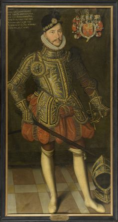 Prince Adolf I of Denmark & Norway, 1st Duke of Schleswig-Holstein-Gottorp (1526 - 1586). Son of the King Fredrik I of Denmark and Sofia of Pomerania, he was the founder of the House of Holstein-Gottorp and father of Princess Christina of Holstein-Gottorp, wife of King Karl IX of Sweden, grandmother of the queen Kristina of Sweden.