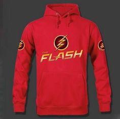 rxlzoon Flash Hoodies Men Fleece Pullovers 2016 New Fashion Hooded Sweatshirt Man Hoody The Flash
