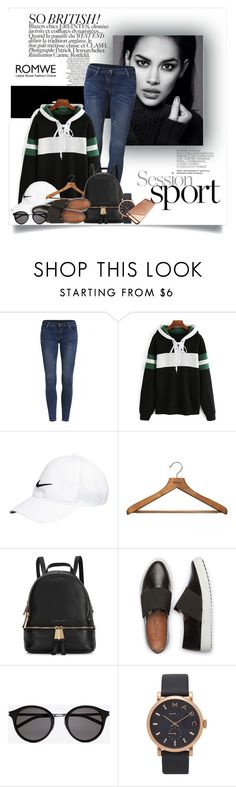 """""""Untitled #3229"""" by snickres ❤ liked on Polyvore featuring NIKE, PERIGOT, Michael Kors, Yves Saint Laurent and Marc Jacobs"""