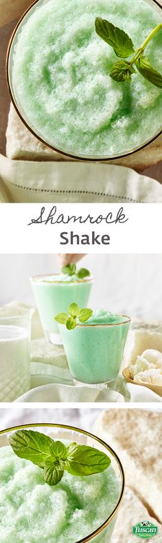 The luck of the Irish! This homemade version of a St. Patrick's Day classic is rich and creamy, made with real 2% milk and ice cream.