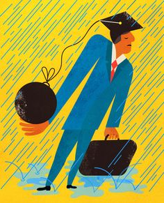 These ripoff law schools give you $160,000 in debt - and useless degrees. Find out how law schools have created a debt crisis in this Editorial from the Sunday Review. (Illustration: Maxwell Holyoke-Hirsch)