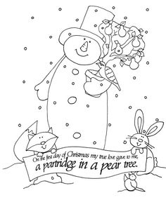Free Dearie Dolls Digi Stamps The Twelve Days Of Christmas
