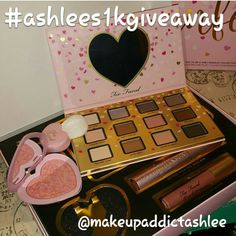 get onto instagram @makeupaddictashlee and join the giveaway to win this too faced funfetti set!! giveaway ends Sunday January 22, 2017 at 8 pm EST don't worry though there's more to come! See the original post for details!