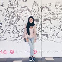 hijab terlama #hijaberidaman Muslim Fashion, Hijab Fashion, Hijab Tutorial, Hijab Outfit, Female, Outfits, Style, Swag, Suits