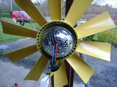 WIND TURBINE BUILT FROM SCRAP FREE ENERGY