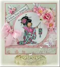 LOTV - Aimi with Lantern - http://www.liliofthevalley.co.uk/acatalog/Stamp_-_Aimi_with_Lantern.html