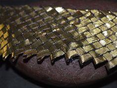 Gota Patti Woven Copper Lace Gota Patti by shopofembellishments