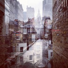 New York + London: A Collection Of Double Exposures By Daniella Zalcman | Yatzer
