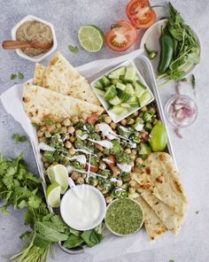 Cumin chickpea salad with mint. For more, visit houseandleisure.co.za