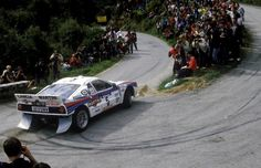 Lancia 037 of Markku Alen at the 1984 Tour de Corse. The Tour de Corse - Rallye de France was a rally first held in 1956 on the island of Corsica, and was the French round of the World Rally Championship from the inaugural 1973 season until Martini Racing, Audi Quattro, Dream Cars, Colin Mcrae, Course Automobile, Rally Raid, Gilles Villeneuve, Lancia Delta, Car And Driver