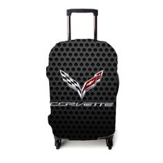 Corvette Racing Carbon Luggage Cover – Etsyenvy Luggage Cover, Corvette, Suitcase, Racing, Running, Auto Racing, Suitcases, Corvettes