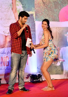 Arjun, Deepika get up, close and intimate during the song launch of Finding Fanny