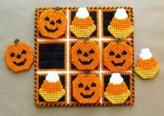 Make a Haunted House Decoration with Plastic Canvas and yarn – FREE Patterns