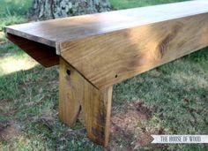 Primitive Bench for Haven Conference