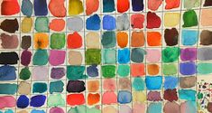 In order to get more comfortable with color mixing for our new water color project I had students attempt a challenge. Using what we kn...