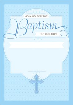 Baptism invitation blank templates for boy baptism invitations dotted blue free printable baptism christening invitation template greetings island stopboris Gallery